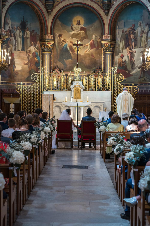 mariage ceremonie eglise armelle dupuis