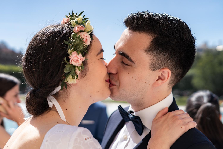 mariage paris mairie couple armelle dupuis