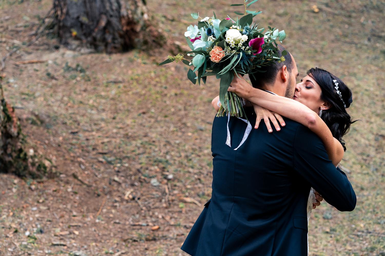 mariage couple montagne armelle dupuis